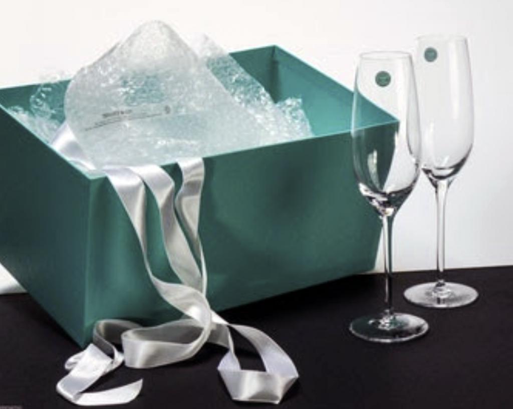 Tiffany Champagne Flutes